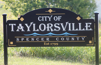 City of Taylorsville Sign
